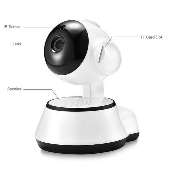 Parya Official - Binnenshuis IP camera - 355° - InHome