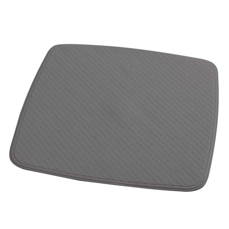 RIDDER Douchemat anti-slip Capri 54x54 cm cementgrijs
