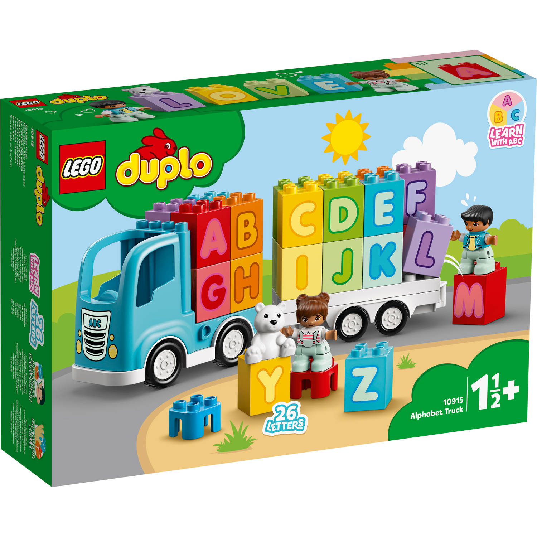 Korting LEGO DUPLO My First alfabetische vrachtwagen 10915