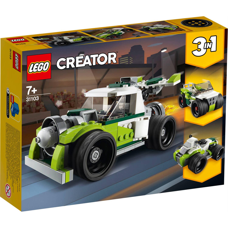 31103 Lego Creator Raketwagen