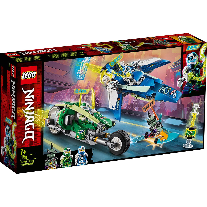 Korting LEGO Ninjago Jay en Lloyd's racers 71709