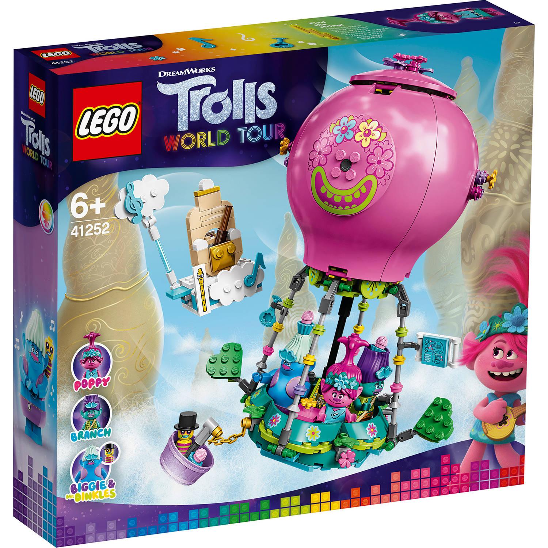 Korting LEGO Trolls Poppy's luchtballonavontuur 41252