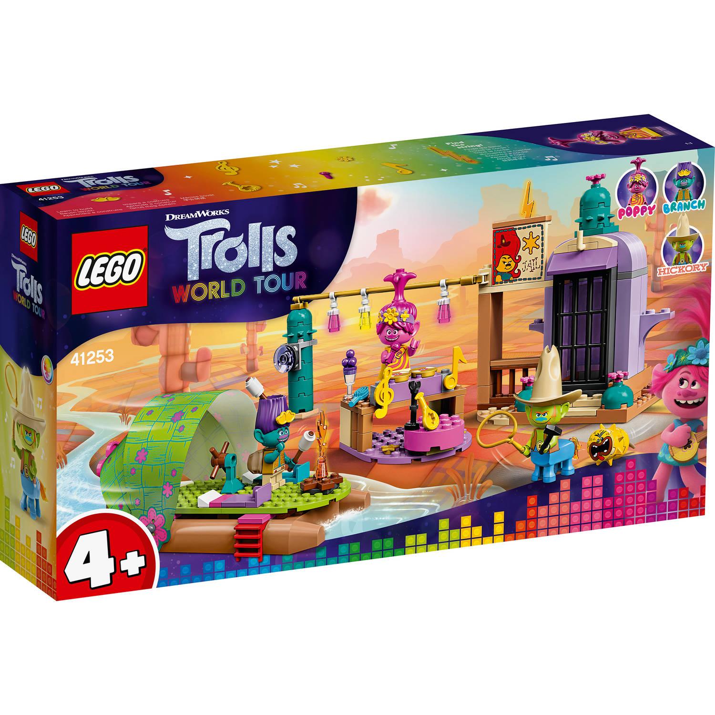 Korting LEGO Trolls Lonesome Fltas wildwateravontuur 41253