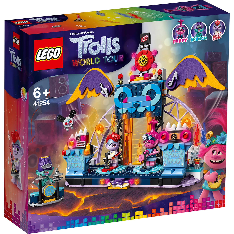 Korting LEGO Trolls Volcanic Rock City concert 41254