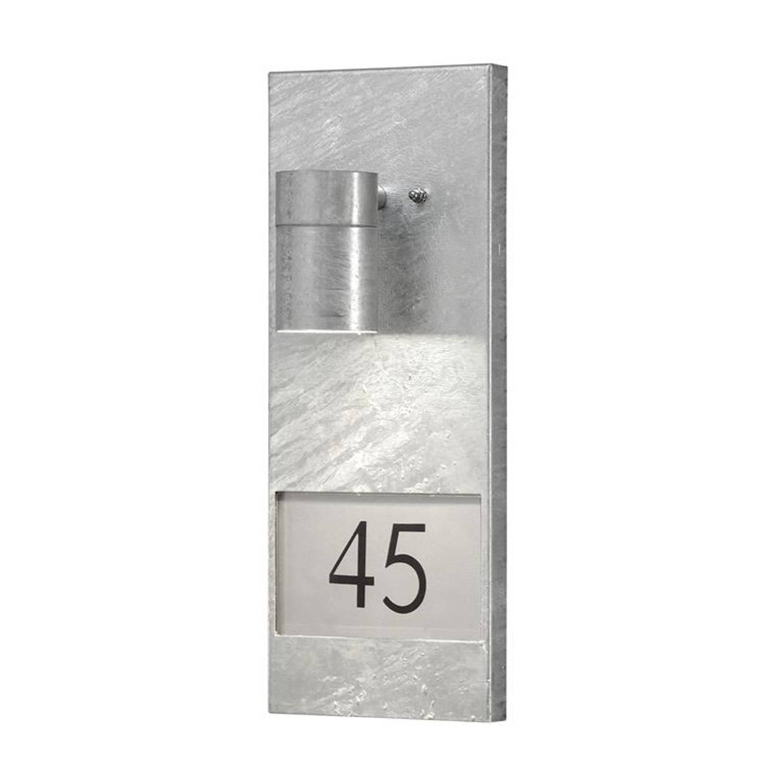 Konstsmide - Modena 230v Wand Downsp Flush Incl. Huisnr Th Verz