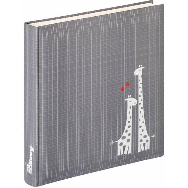 Walther Design UK-143 Little Darling - Baby album - 28 x 31 cm - Grijs - 50 pagina's