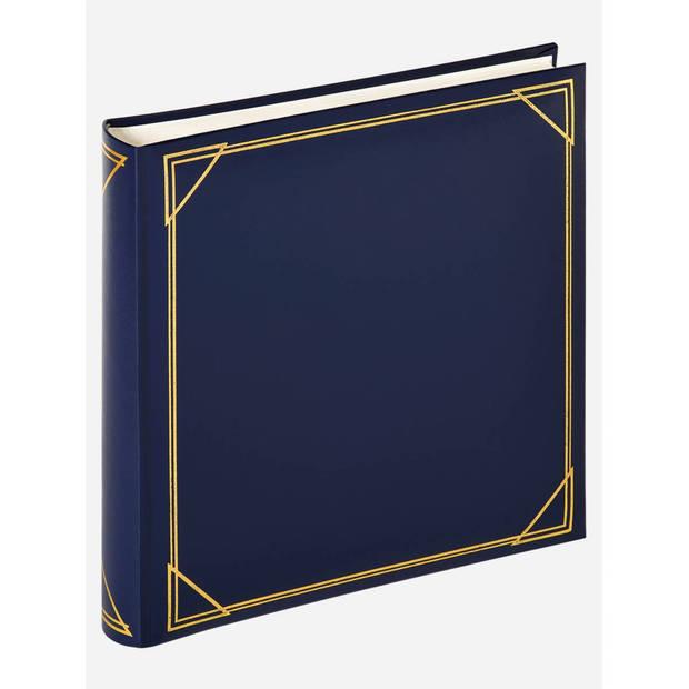 Walther Design standard fotoalbum 30 x 30 cm blauw