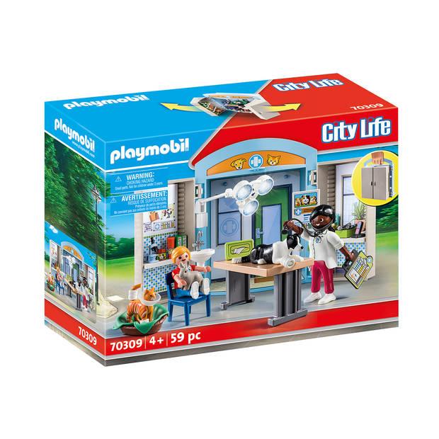 Playmobil speelbox dierenarts 70309
