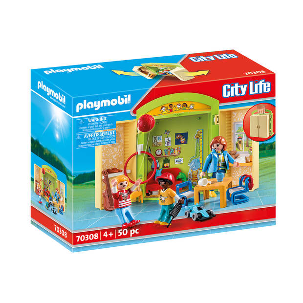 Playmobil speelbox kinderdagverblijf 70308