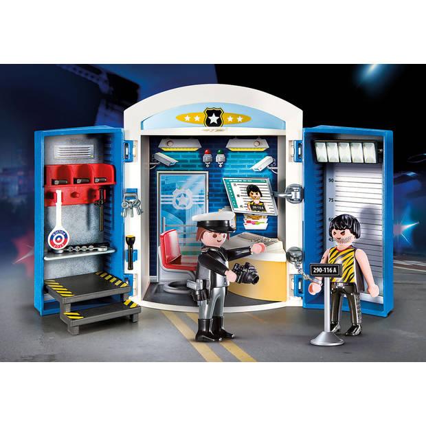 PLAYMOBIL City Action speelbox politie station 70306