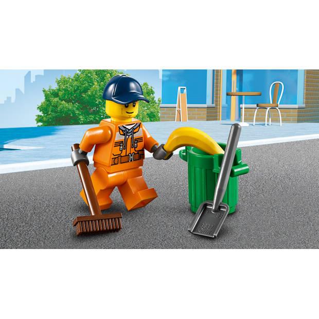 LEGO City straatveegmachine 60249