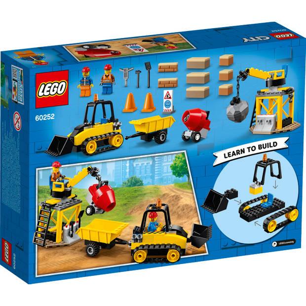 LEGO City constructie bulldozer 60252
