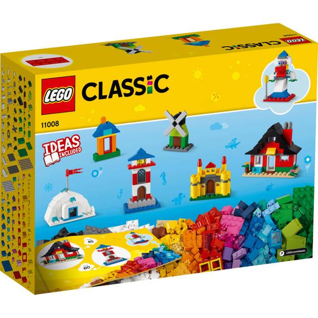 LEGO Classic stenen en huizen 11008