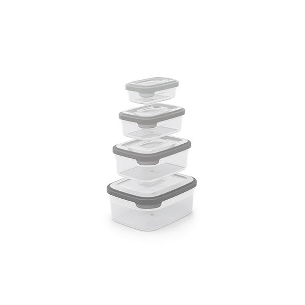 Joseph Joseph Vershoudbakjes - BPA Vrij - 4 stuks - Serie: Nest 5