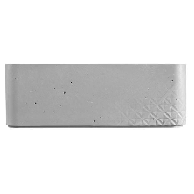 Curver Beton opbergbox M - 8L - Lichtgrijs