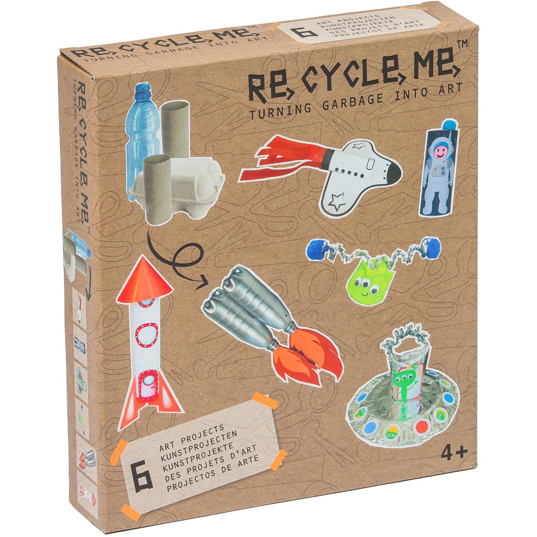 Re-Cycle-Me knutselpakket Ruimte wereld | Blokker