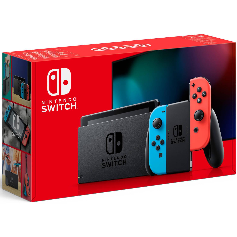 Goedkoopste Nintendo Switch Red/Blue