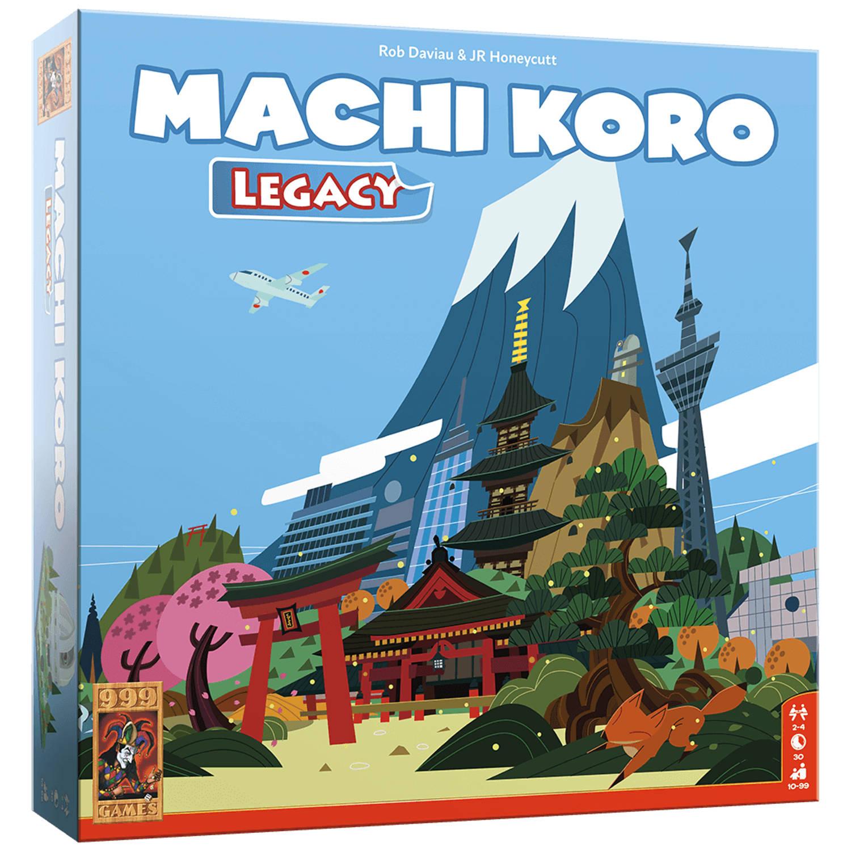999 Games - Machi Koro Legacy - Dobbelspel
