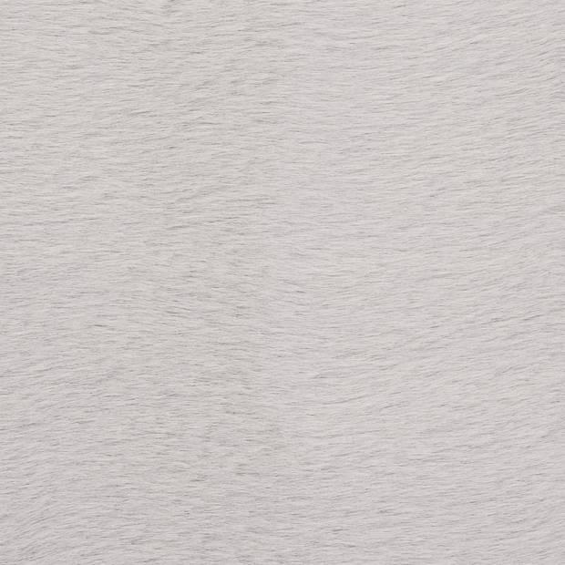 vidaXL Vloerkleed 80x150 cm kunstkonijnenbont grijs