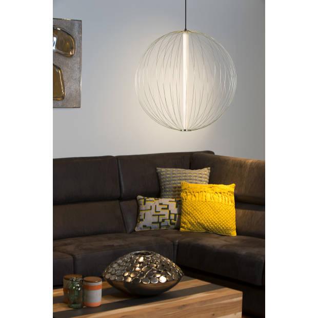 Lucide CARBONY Hanglamp Ø 60cm Int LED 10W/3000K Messing