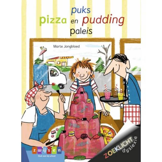Puks Pizza En Pudding Paleis - Zoeklicht Dyslexie