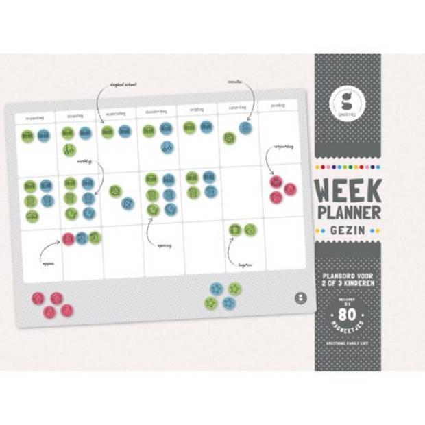 Weekplanner Gezin