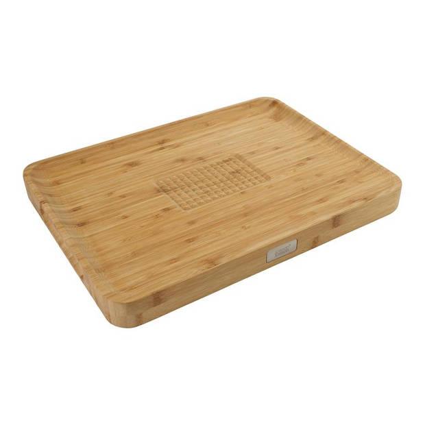 Joseph Joseph - Cut & Carve Bamboo Chopping Board