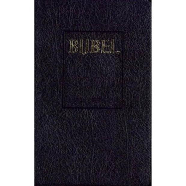 Bijbel (Sv) Met Goudsnee, Rits En Duimgrepen