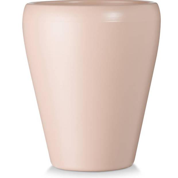 Blokker bloempot Sophia - roze - 14x14x17 cm