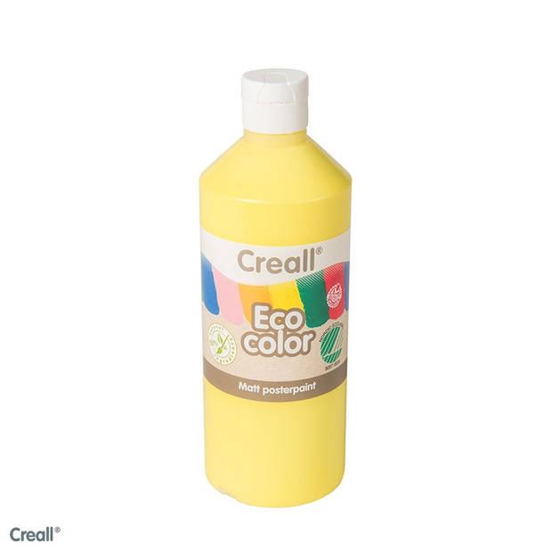 Creall-eco color plakkaatverf lichtgeel