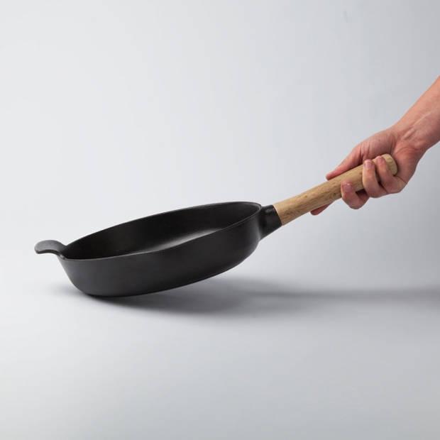 Hapjespan 26 cm, Gietijzer, Zwart - BergHOFF Ron
