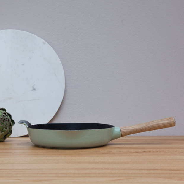 Hapjespan 26 cm, Gietijzer, Groen - BergHOFF Ron