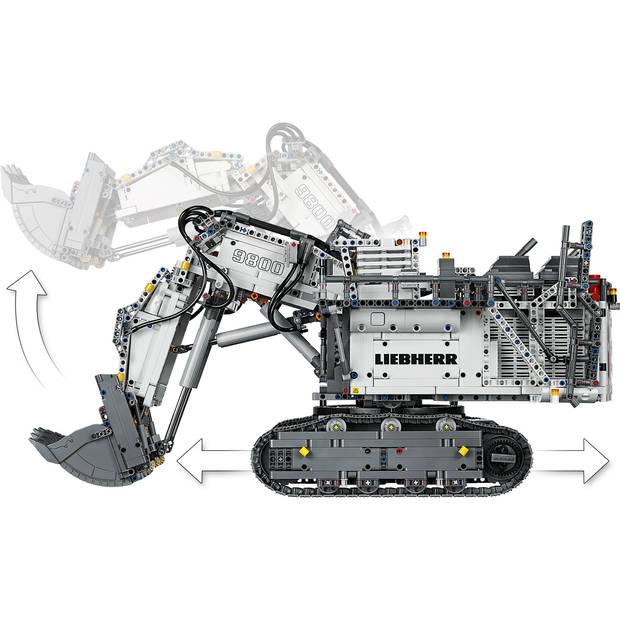 Technic - Liebherr R 9800 Graafmachine