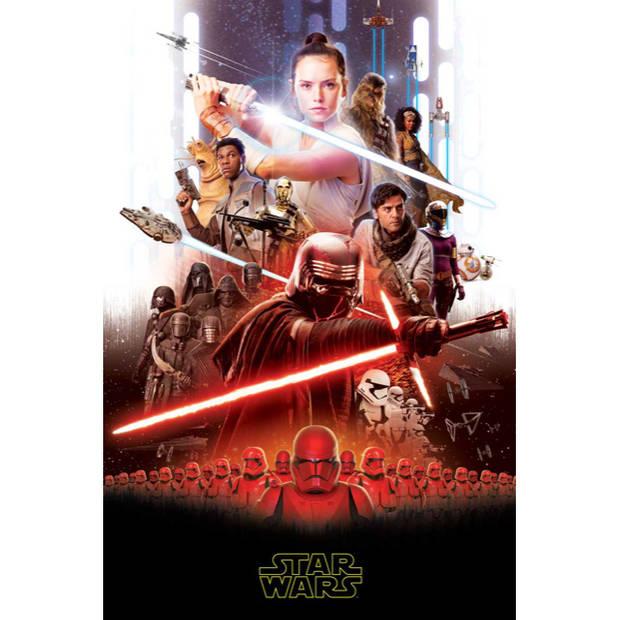 Star Wars 9 Fleeceplaid - 100 x 150 cm - Multi
