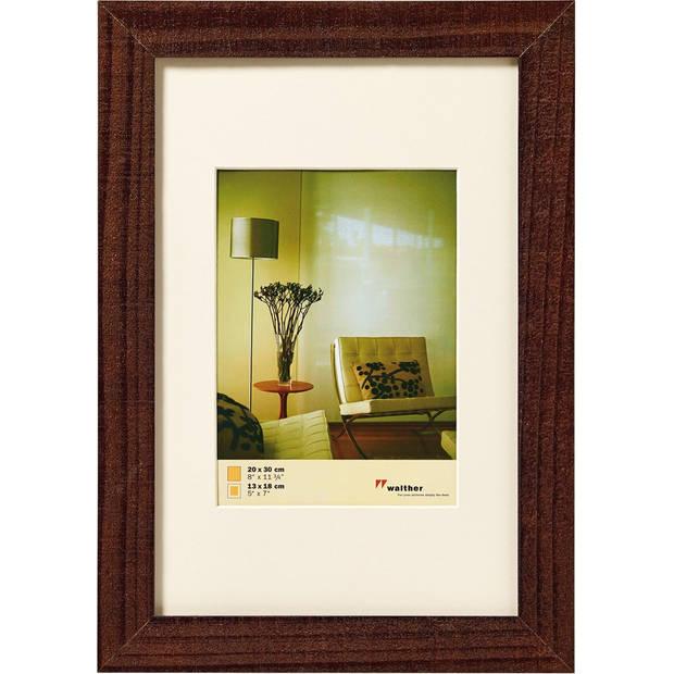 Walther Home fotolijst 30x40 cm walnoot