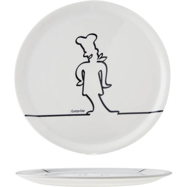 Cosy & Trendy Pizzabord - Ø 31 cm - Set-6