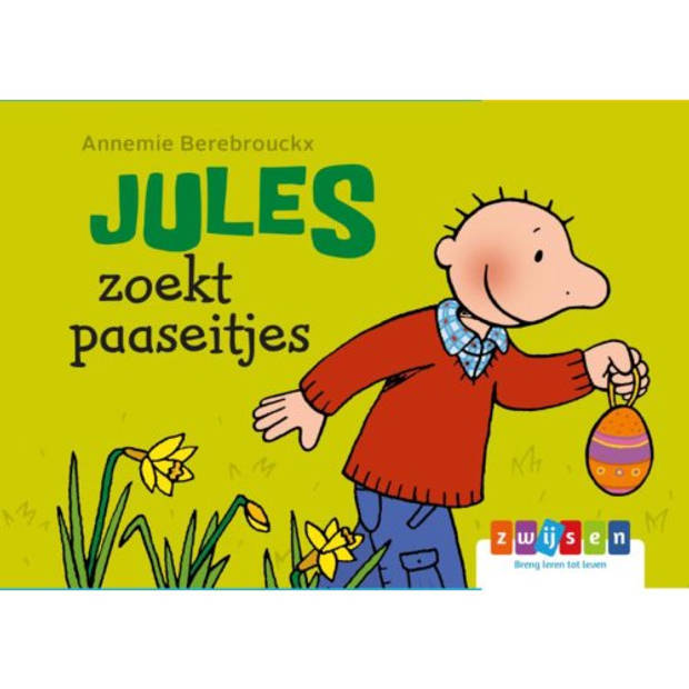 Jules Zoekt Paaseitjes - Jules Kartonboekje