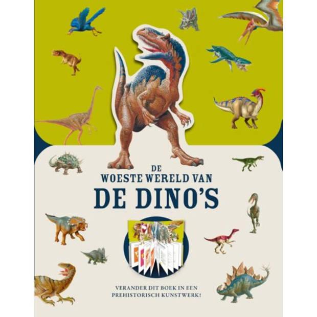 De Woeste Wereld Van De Dino's - Paperscapes
