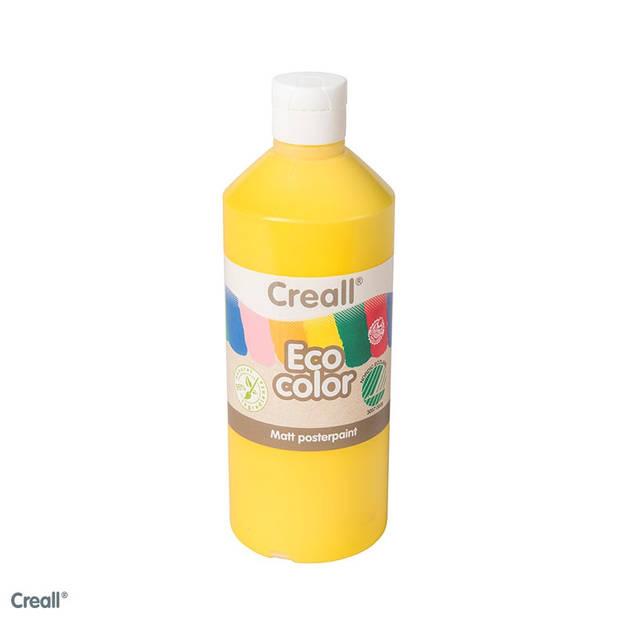 Creall-eco color plakkaatverf primair geel