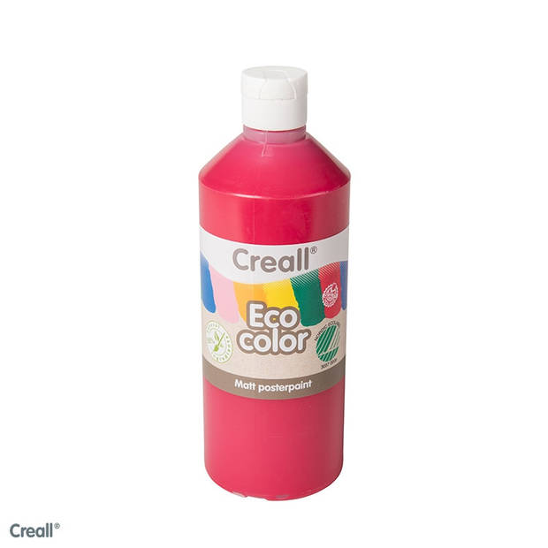 Creall-eco color plakkaatverf donkerrood