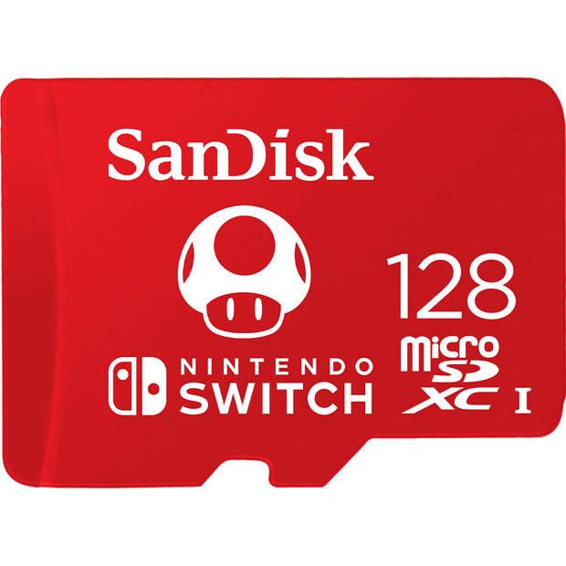MicroSDXC for Nintendo Switch, 128 GB
