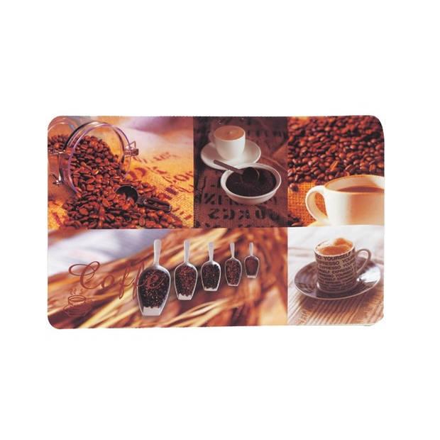 Set van 6 - Placemat, Koffiebonen - Kela Picture