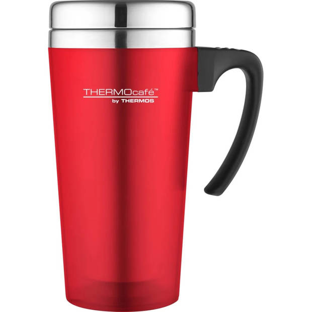 Thermos Soft Touch Travel Mug - 420 ml - Rood