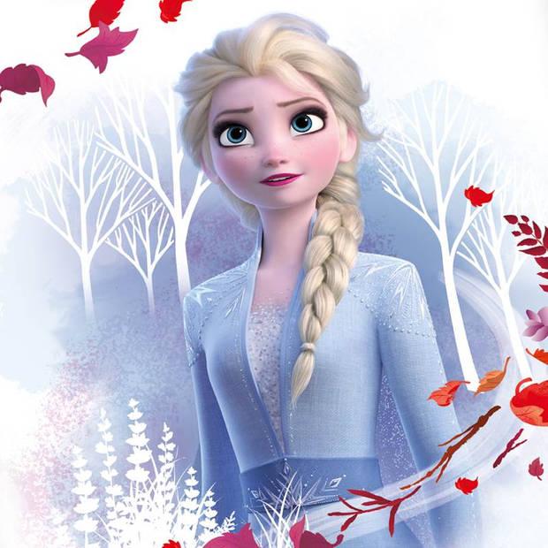 Disney Frozen dekbedovertrek - Katoen - Ledikant (100x135 cm + 1 sloop) - Multi