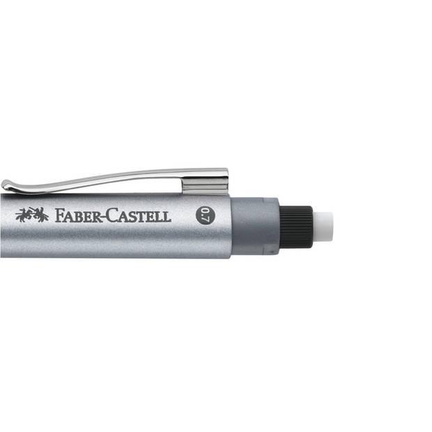 Vulpotlood Faber Castell GRIP 2011 0,7mm zilver