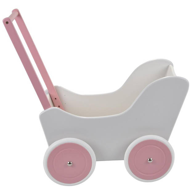 Bandits and Angels - Poppenwagen Little Angel white