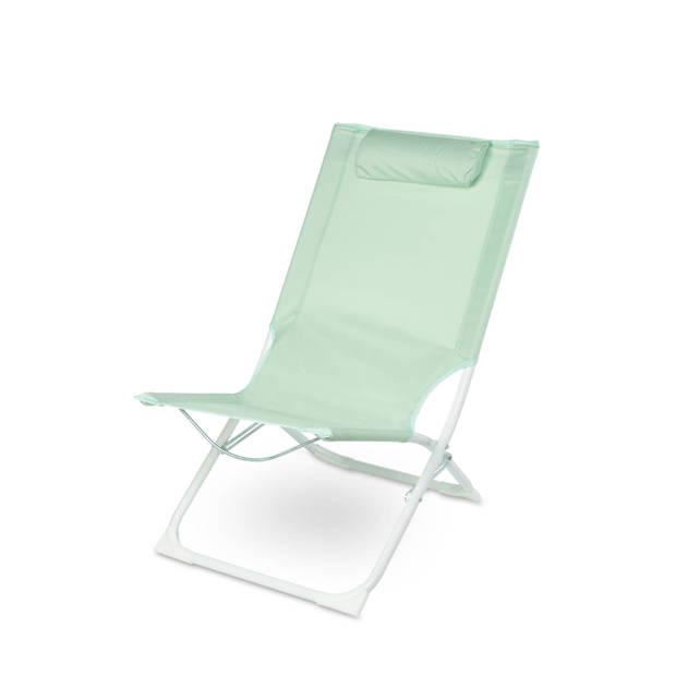 Royal Patio Strandstoel met kussen groen