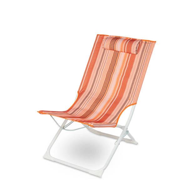 Royal Patio Strandstoel met kussen gestreept