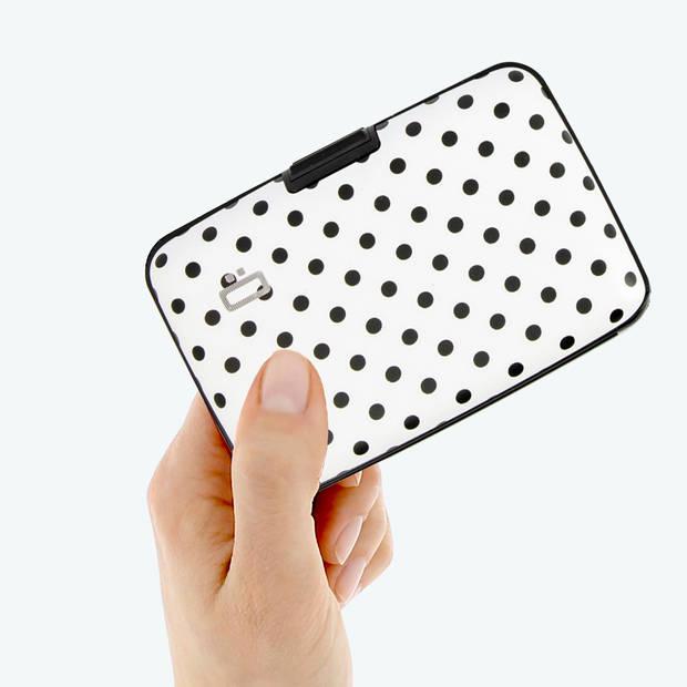 Ogon Designs Stockholm - Aluminium Creditcardhouder - Dots