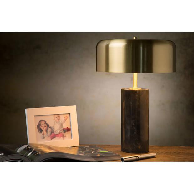 Lucide MIRASOL Tafellamp G9/3x7W Zwart Marmer